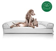 Furhaven Pet Dog Bed | Quilted Traditional SofaStyle Living Room Couch Pet Bed Replacement Cover for Dogs & Cats