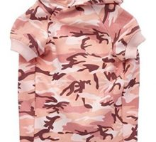 Casual Canine Camo Hoodie for Dogs 20″ XL Pink