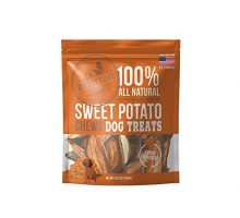 Wholesome Pride Sweet Potato Chews  All Natural Healthy Dog Treats  Vegan Gluten and GrainFree Dog Snacks 8 Ounce
