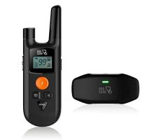 Dog Shock Collar  Dog Training Collar with Remote 3 Training Modes Up to 1000Ft Remote Range 0~99 Shock Levels Beep Vibration Shock Rechargeable Remote Shock Collar for Dogs