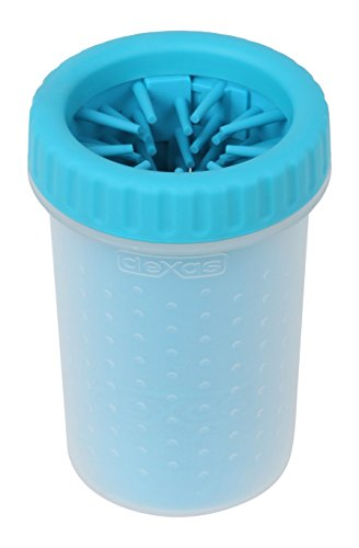 Dexas MudBuster Portable Dog Paw Cleaner Medium Blue