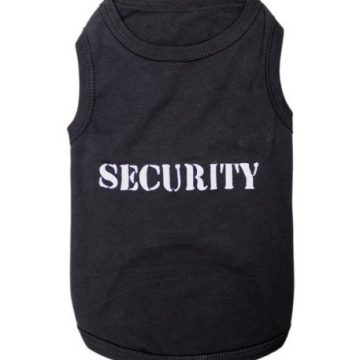 Parisian Pet Security Dog TShirt 5XL