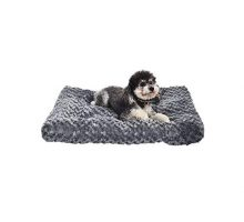 AmazonBasics Pet Dog Bed Pad  29 x 21 x 3 Inch Grey Swirl