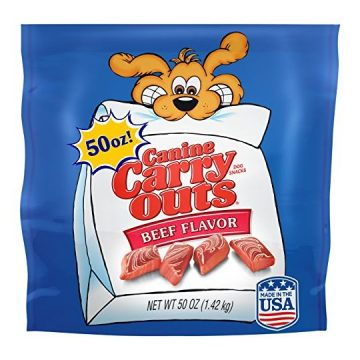 Canine Carry Outs Beef Flavor Dog Treats 50Oz