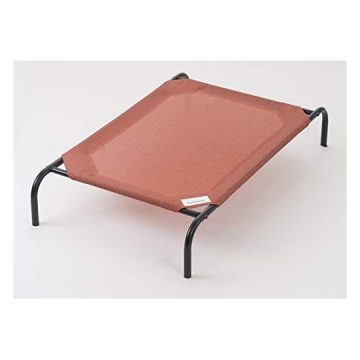 Coolaroo The Original Elevated Pet Bed Large Terracotta