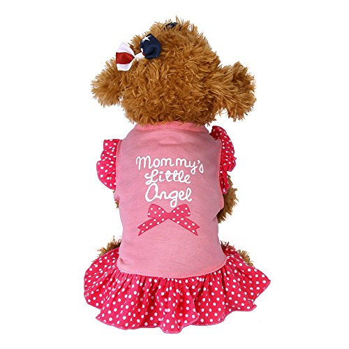 Howstar Pet TShirt Dog Summer Apparel Puppy Pet Clothes for Dogs Cute Soft Vest