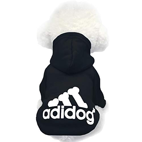 Moolecole Pet Sports Apparel Cat & Dog Cold Weather Coats Dog Hoodies Pet Sweaters