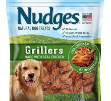 Nudges Chicken Grillers Dog Treats 16 oz