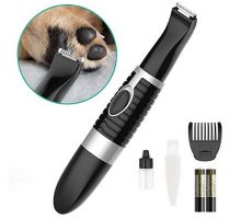 oneisall Dog Grooming ClippersCordless Small Pet Hair TrimmerLow Noise for Trimming Dog Hair Around Paws Eyes Ears Face RumpBlack