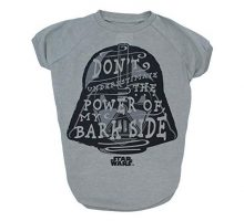 Star Wars Don't Underestimate The Power of my Bark Side Dog Tee | Star Was Dog Shirt | Medium