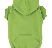 Zack & Zoey Basic Hoodie for Dogs 24″ XLarge Parrot Green