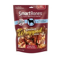Smartbones Mini ChickenWrapped Sticks For Dogs RawhideFree 15 Count