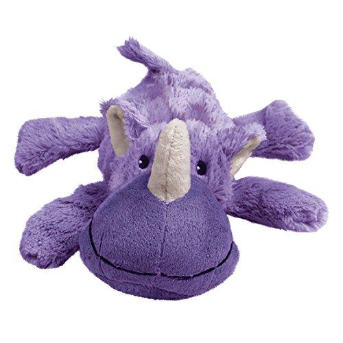 KONG Cozie Rosie the Rhino Medium Dog Toy Purple