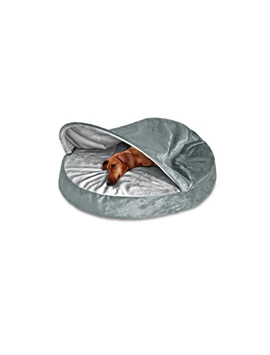 Furhaven Pet Dog Bed Orthopedic Round Microvelvet