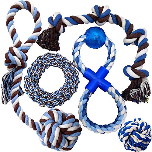 Otterly Pets Puppy Dog Pet Rope Toys  Medium to Large Dogs