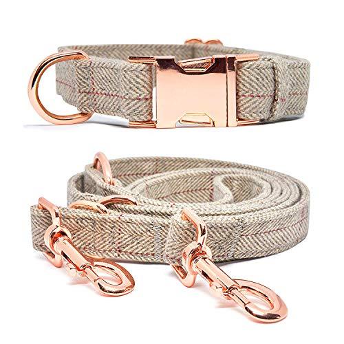 KUYOUGOU Dog Collar and Leash
