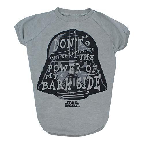 Star Wars Don't Underestimate The Power of my Bark Side Dog Tee | Star Was Dog Shirt | Medium
