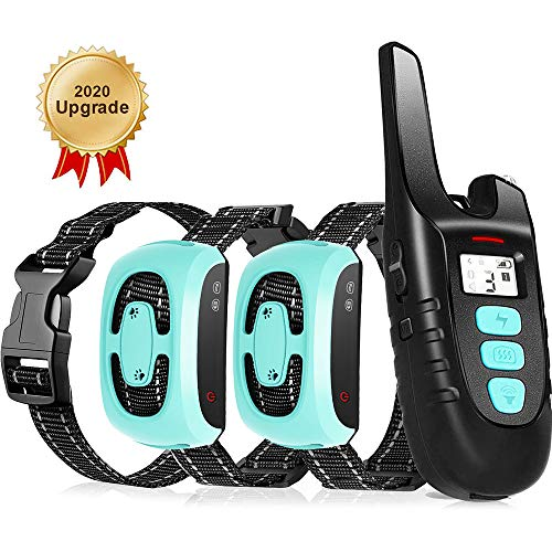 TOKEGO Dog Training Collar 2 Dogs 3 Training Modes1500FT Remote Rechargable & Waterproof Dog Collar for SmallMedium and Large Dogs